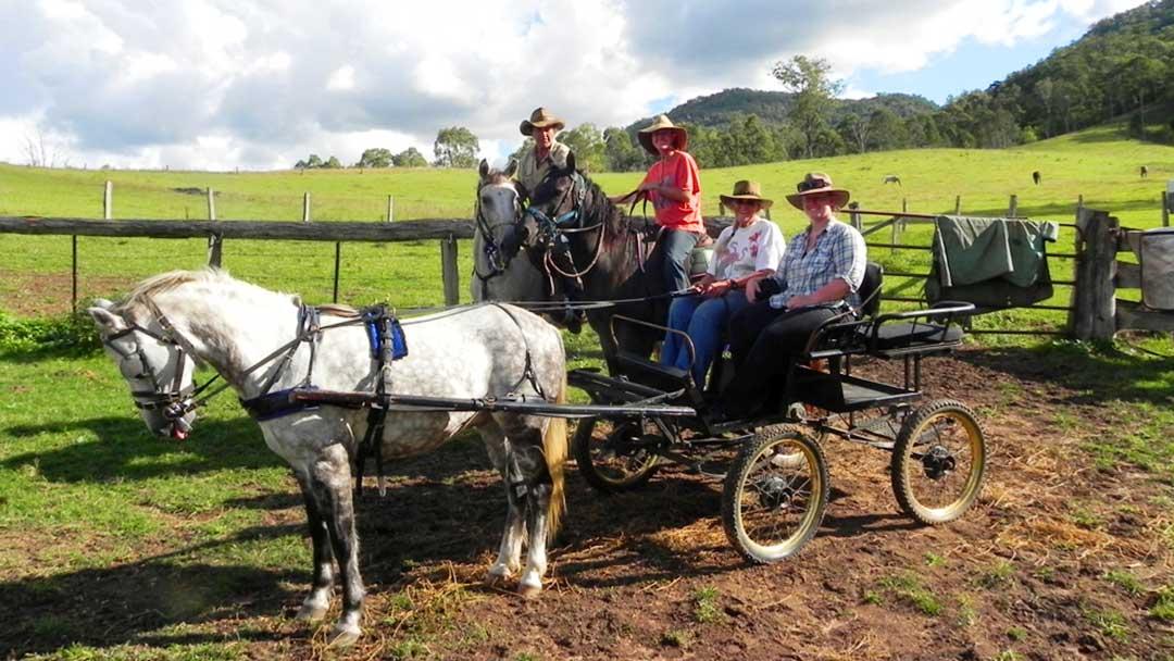 leder water drill farming family