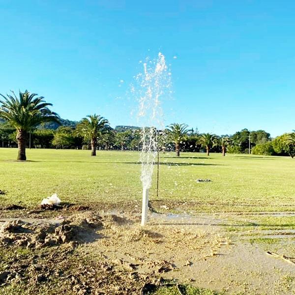 water bore fountain