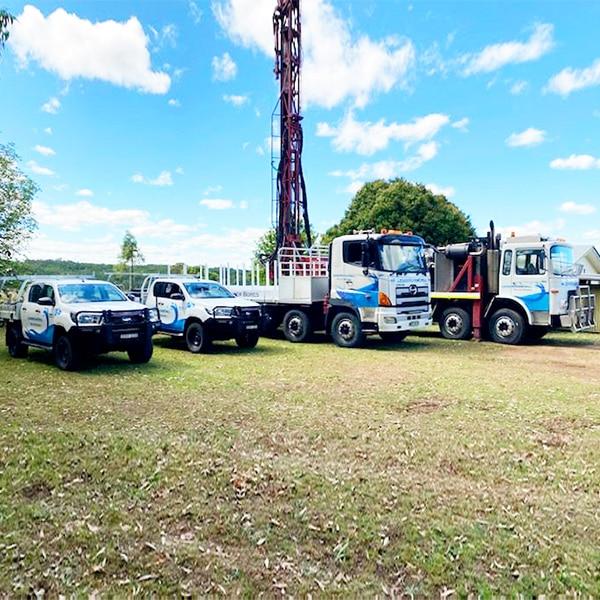 water well drilling fleet